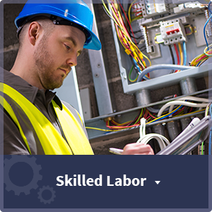 Employment and Job Categories Offered Through Labor Staffing Solutions - skilled